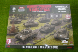Flames of War GRIMBALLS BEASTS TANK COMPANY 15mm USAB05