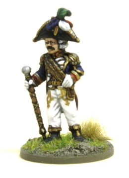 Trent Miniatures CONSULAR GARDE DRUM MAJOR MUS03