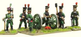 Trent Miniatures POLISH ARTILLERY CREW & SAPPERS POL09