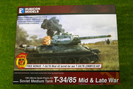 Rubicon Models Soviet T34/85 Mid & Late War 28mm 1/56th scale RU012