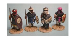 Arab Heavy Infantry Footsore Miniatures Caliphates Medieval 03ARB102