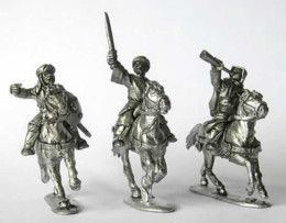Arab Light Cavalry Command Footsore Miniatures Caliphates Medieval 03ARB207