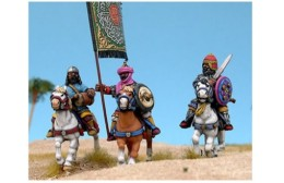 Arab Heavy Cavalry Command Footsore Miniatures Caliphates Medieval 03ARB203
