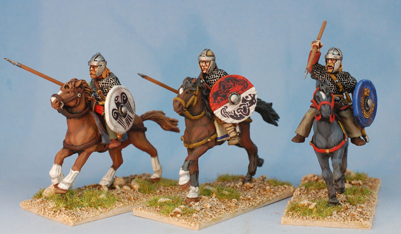 Goth Heavy Cavalry Footsore Miniatures SAGA Dark Ages 03GTH201