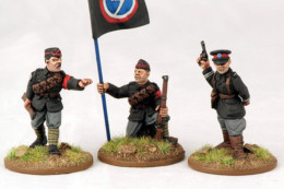BUF/Yeomanry Infantry Command Footsore Miniatures Inter-War 1918-1939 07VBC112