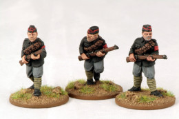BUF/Yeomanry Infantry Troopers Footsore Miniatures Inter-War 1918-1939 07VBC113