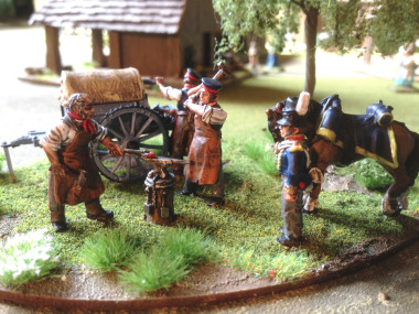 Napoleonic Field Forge - Perry Miniatures