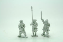 Arab Infantry Command Footsore Miniatures Caliphates Medieval 03ARB100