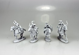 MONGOL HEAVY CAVALRY ARCHERS FireForge Games 28mm FFG201