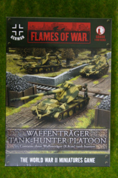Flames of War WAFFENTRAGER TANK HUNTER PLATOON 15mm GBX88