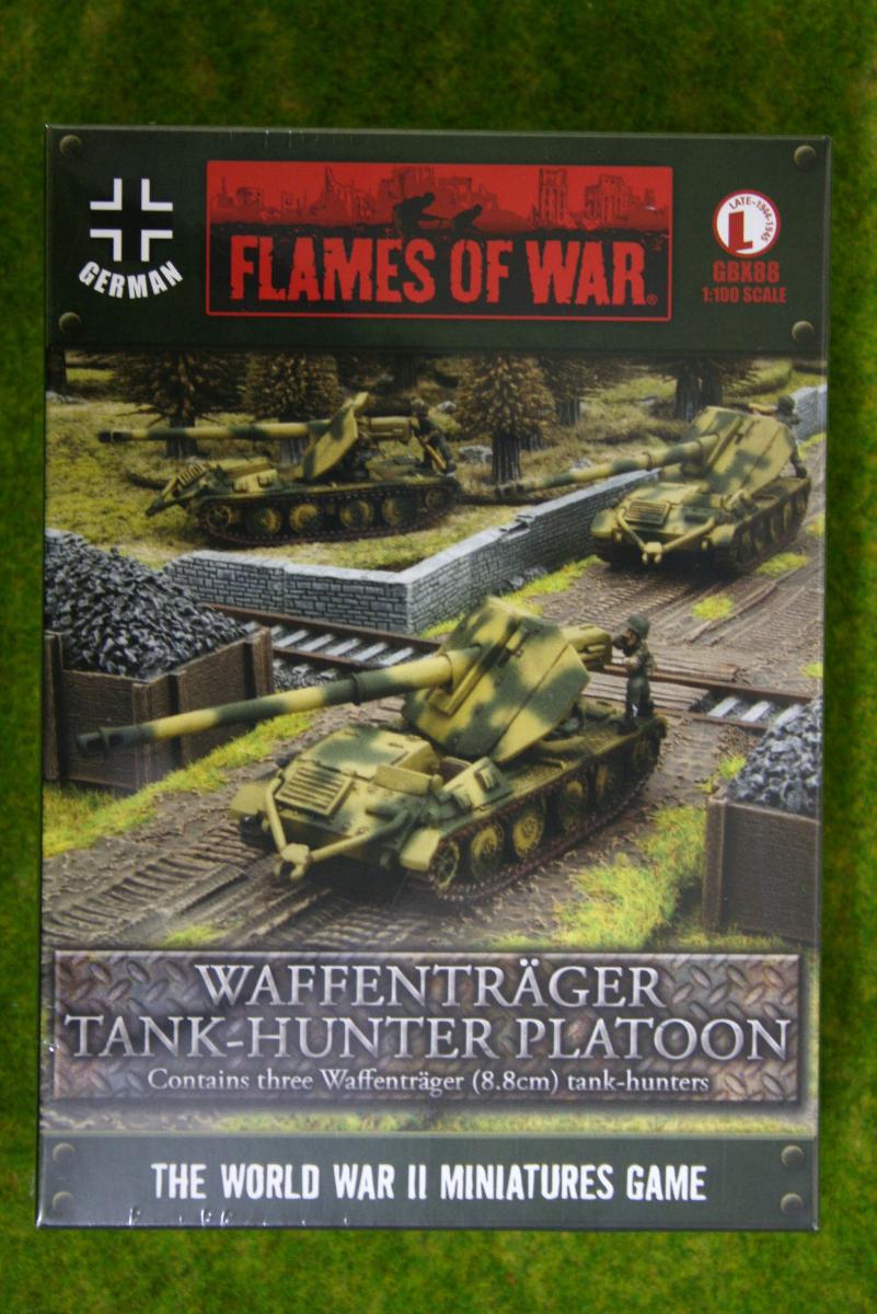 Flames of War WAFFENTRAGER TANK HUNTER PLATOON 15mm GBX88