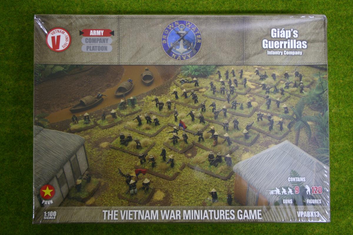 Flames of War GIAP'S GUERRILLAS infantry Company Vietnam 15mm VPABX13