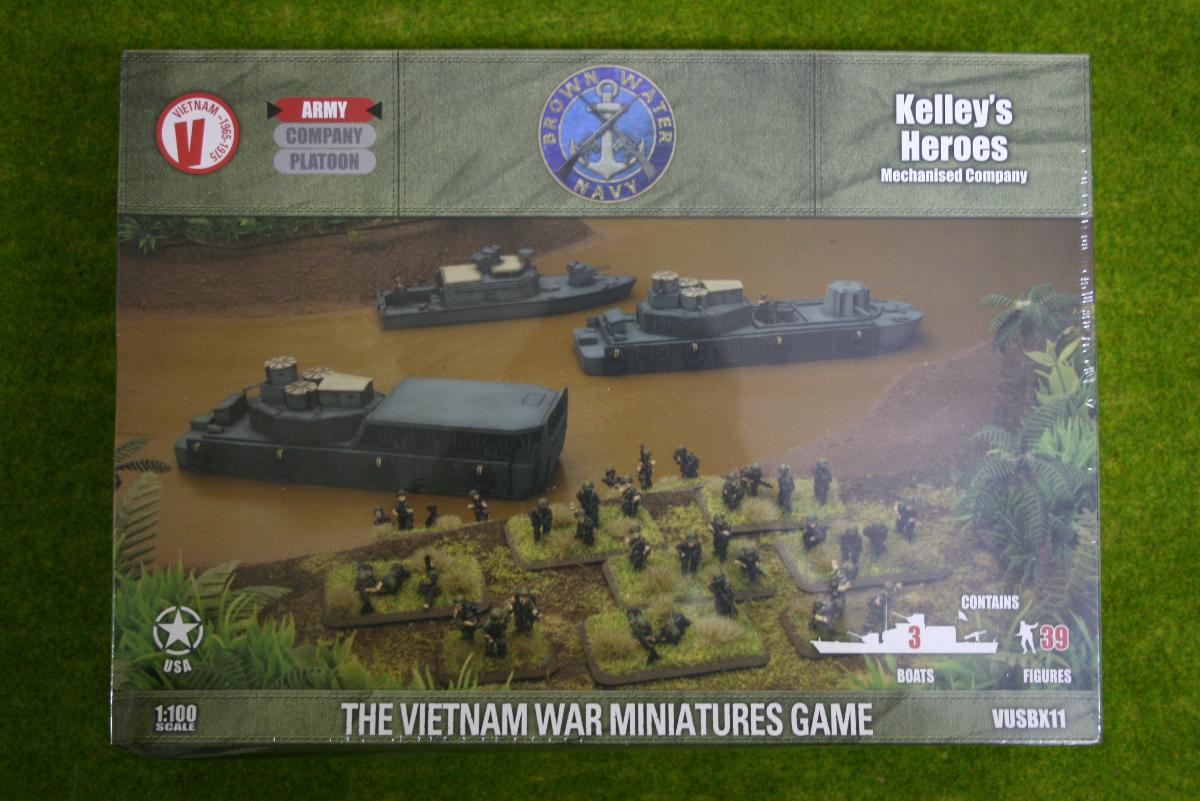 Flames of War KELLEY'S HEROES Mech. Company Vietnam 15mm VUSBX11