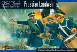 Warlord Games PRUSSIAN LANDWEHR 1789-1815 Black Powder 28mm