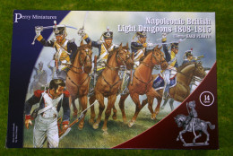 Perry Miniatures NAPOLEONIC BRITISH LIGHT DRAGOONS 28mm set