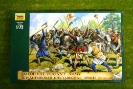 Medieval Peasant Army XIII – XV A.D. 1/72 Zvezda 8059