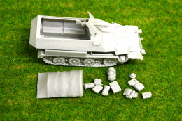 1/56 scale – 28mm WW2 GERMAN 251 Ausf. C Variants Halftrack 28mm Blitzkrieg miniatures