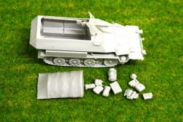 1/56 scale – 28mm WW2 GERMAN 251 C Variants Halftrack 28mm Blitzkrieg miniatures
