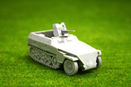 1/56 scale – 28mm WW2 GERMAN 250/10 Halftrack 28mm Blitzkrieg miniatures