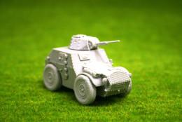 1/56 28mm WW2 AS43 Italian Armoured Car Blitzkrieg Miniatures