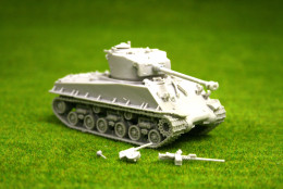 1/56 28mm WW2 US Sherman M4A3E8 'easy 8' Blitzkrieg miniatures