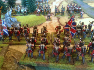 British Musketry attempts to remove Italians