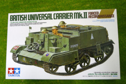 Tamiya BRITISH UNIVERSAL CARRIER MKII Forced Recon. 1/35 Scale Kit 35249