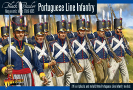PORTUGUESE LINE INFANTRY Warlord Games Black Powder Napoleonics SD