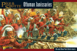 OTTOMAN JANISSARIES Warlord Games Black Powder Pike & Shotte