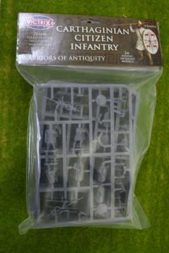 Victrix Carthaginian Citizen Infantry 28mm plastic VXA011