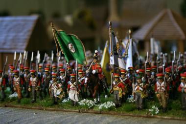 hanvoverian brigade close up - Command Figures