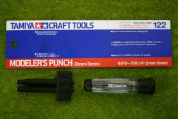 Tamiya MODELER'S PUNCH (2mm/3mm) 74122