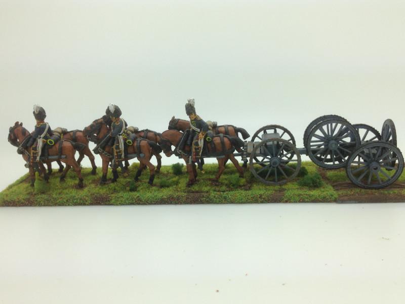Wheel wagon and Limber