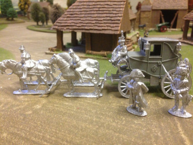 Napoleons Coach assembled.