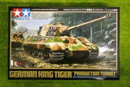 "Tamiya GERMAN KING TIGER ""PRODUCTION TURRET"" VERSION 1/48 Scale kit 32536"