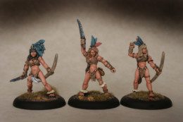 Lucid Eye Amazon Warriors Pack 2 – Savage Core SCT53 28mm scale