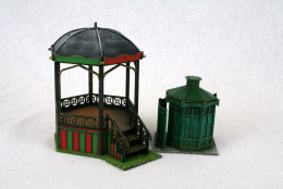 Gas Lamp Alley VICTORIAN BANDSTAND – G065 & PISSIOR – G071 MDF Scale Building Set