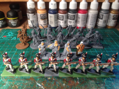 Royal marines nearly ready for duty!