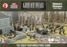 Flames of War GREAT WAR CLAVERY'S CHARGERS 15mm GFRAB01