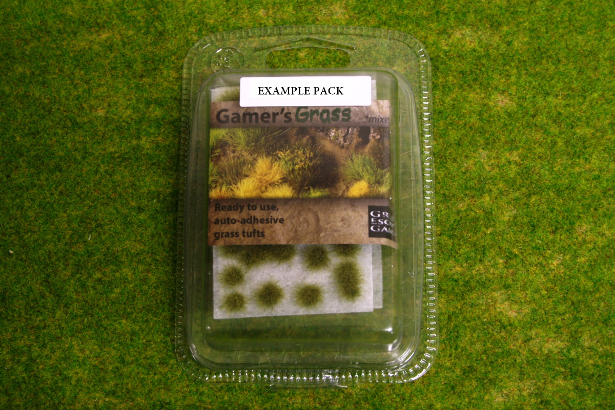 Gamers grass white flowers tufts gg013 arcane scenery and models mightylinksfo