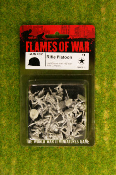 Flames of War US Rifle Platoon GREAT WAR 15mm GUS702