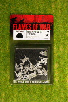 Flames of War US Machine-Gun Platoon GREAT WAR 15mm GUS704