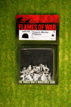 Flames of War US Trench Mortar Platoon GREAT WAR 15mm GUS705