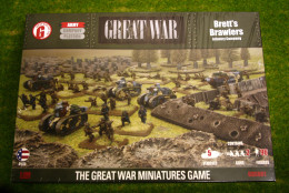 Flames of War GREAT WAR BRETT'S BRAWLERS 15mm GUSAB1
