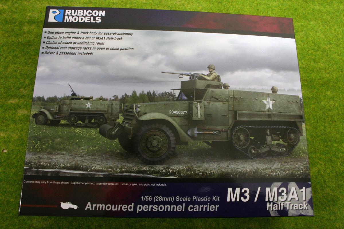 Rubicon Models M3/ M3A1 Half Track 1/56th scale 28mm RU018