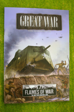 GREAT WAR Battles of 1918 Flames of war Supplement