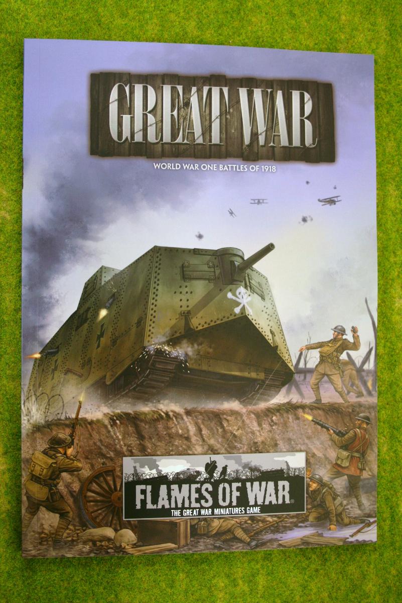 GREAT WAR Battles of 1918 Flames of war Supplement