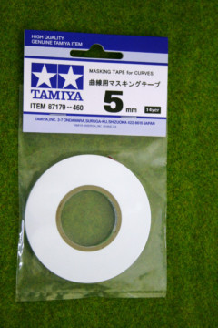 Tamiya MASKING TAPE FOR CURVES 5mm width Modelling Accessories item 87179
