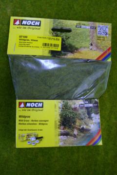 Noch Wild Grass – Meadow – 6mm long Static grass fibres 07100