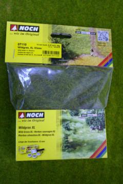 Noch Wild Grass Extra Long – Meadow – 12mm long Static grass fibres 07110